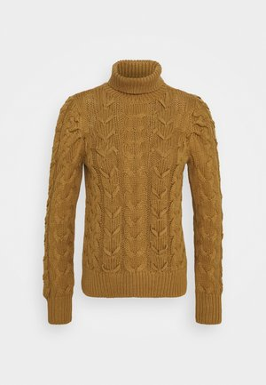 NMEDDIE ROLL NECK - Jumper - ermine