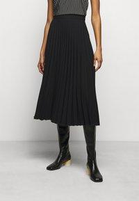 MM6 Maison Margiela - A-line skirt - black - 0