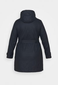 Dorothy Perkins Curve - RAINCOAT - Waterproof jacket - navy - 1