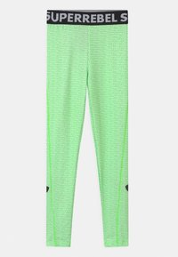 SuperRebel - UNISEX - Punčochy - gecko green - 0