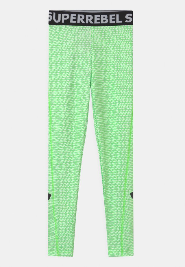 UNISEX - Tights - gecko green