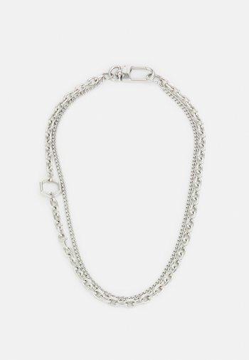 PARTICLE UNISEX - Necklace - silver-coloured