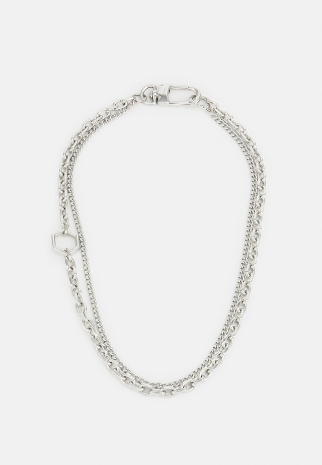 PARTICLE UNISEX - Halsband - silver-coloured