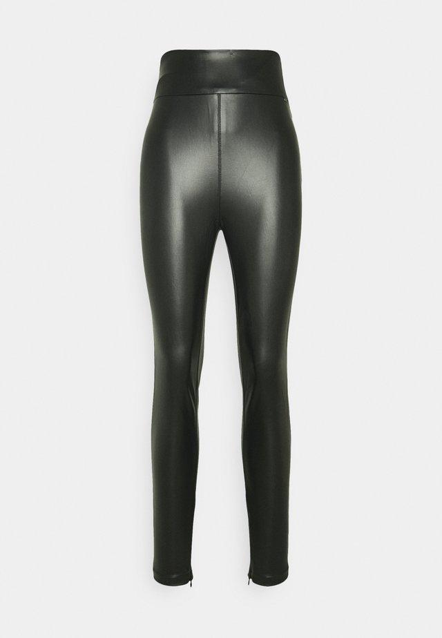 PRISCILLA - Leggings - Trousers - jet black
