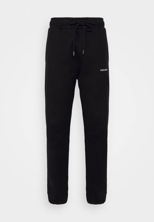 LOGO HEAVY UNISEX - Teplákové kalhoty - black