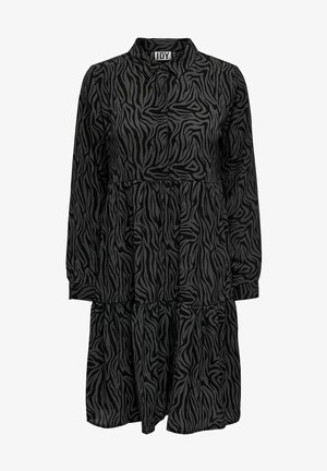 JDYPIPER - Shirt dress - black