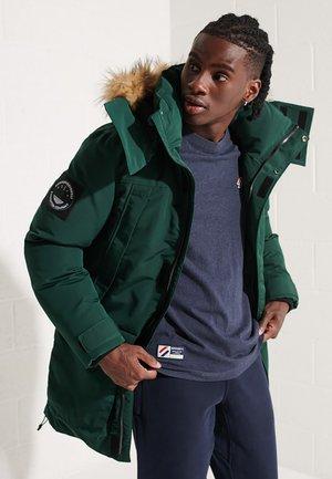 CODE EVEREST  - Winter coat - enamel green