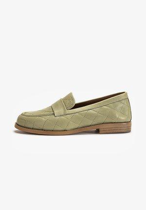 Loafers - olive olv