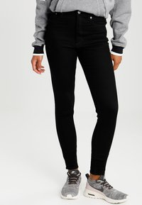 Cheap Monday - HIGH SKIN  - Jeans Skinny Fit - pure black - 0