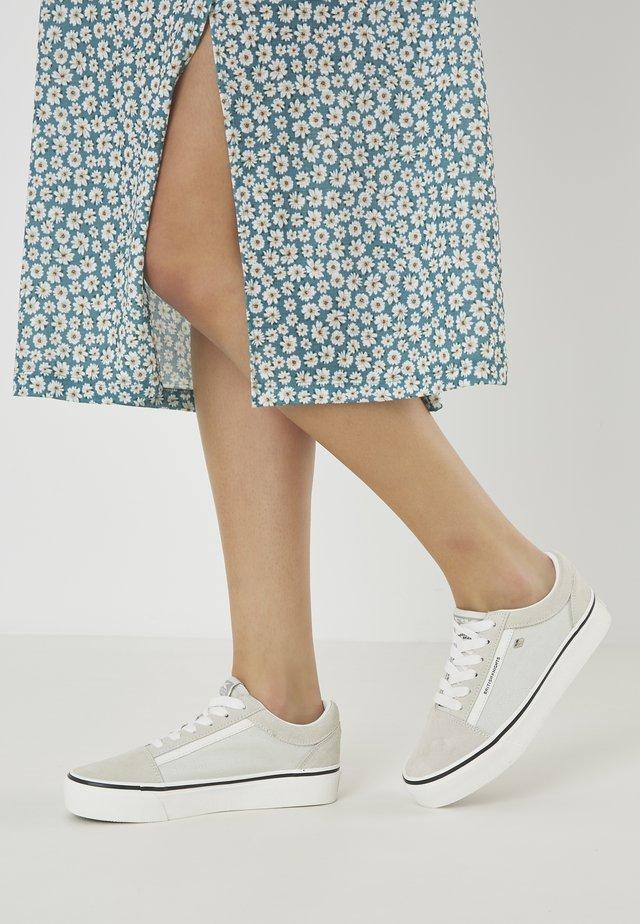 MACK  - Baskets basses - beige/white