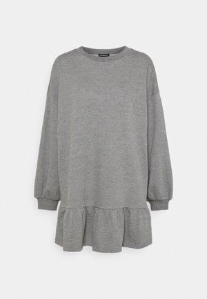 Day dress - mottled grey