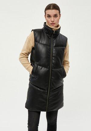 SELMA - Waistcoat - black