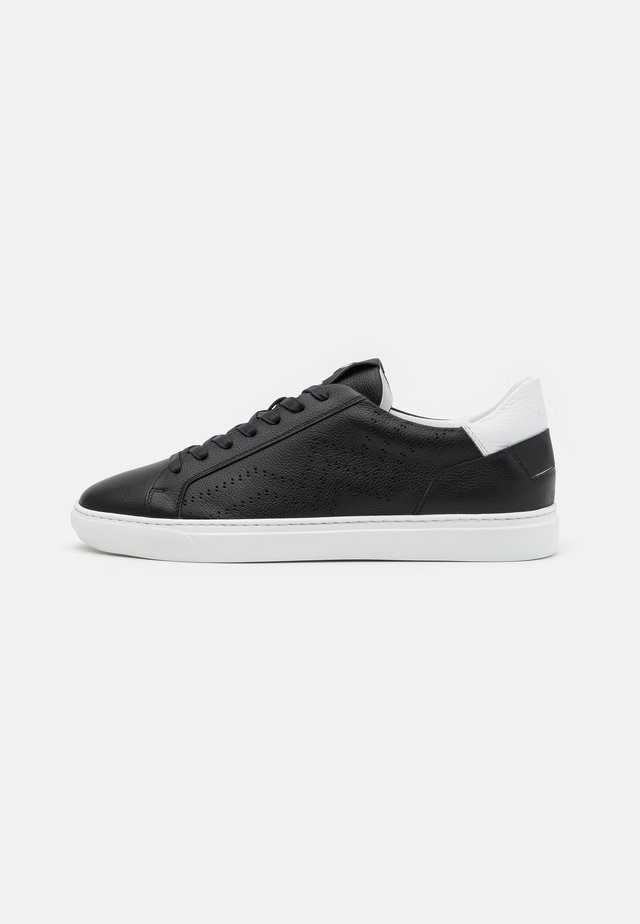 NIZZA - Sneakers laag - black/white
