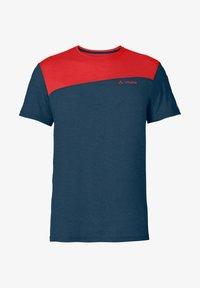 Vaude - SVEIT  - Print T-shirt - mars red - 2