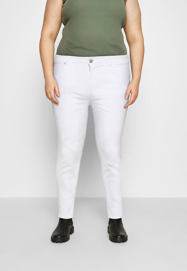 CARWILLY  LIFE - Skinny džíny - white denim