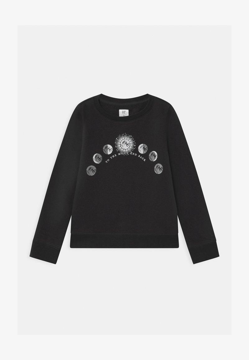 GAP - GIRL DOORBUSTER CREW - Sweatshirt - moonless night
