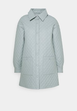 Short coat - dusty blue