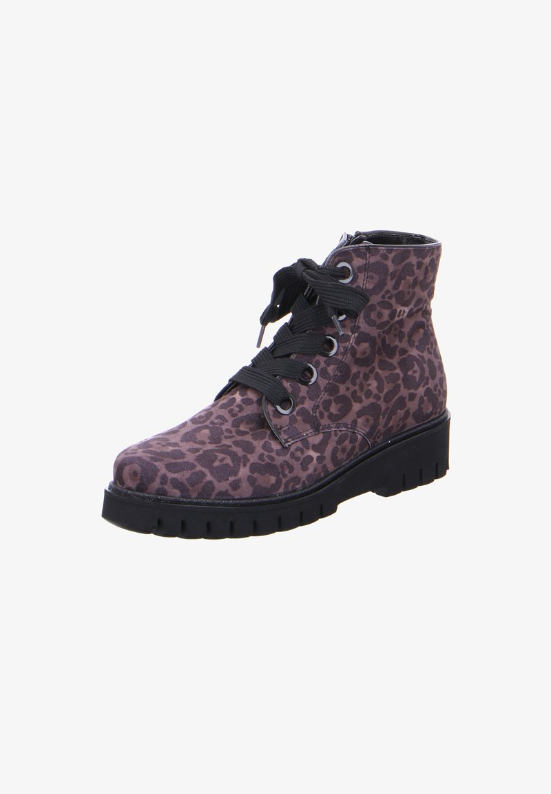 ara - Lace-up ankle boots - grau