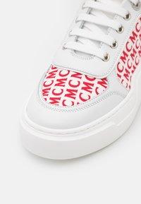 MCM - SKYWARD PLATFORM - Sneakersy niskie - white - 6