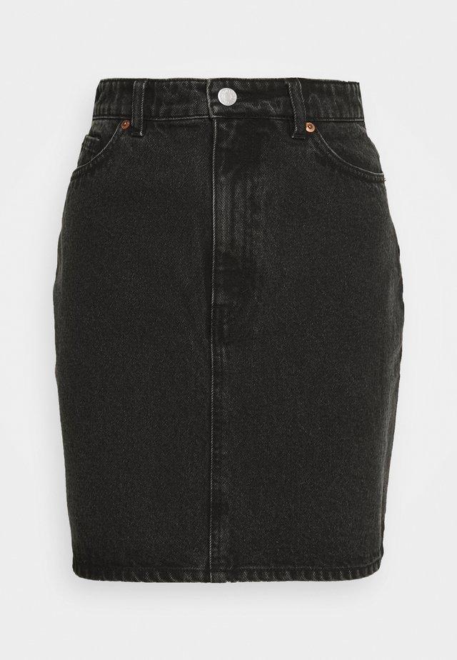 MIMMIE SKIRT - Spódnica ołówkowa  - black dark