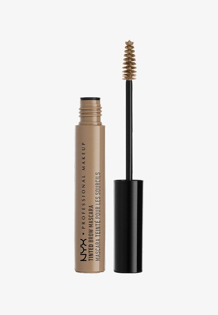 Nyx Professional Makeup - TINTED BROW MASCARA - Henna do brwi - 1 blonde