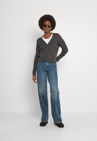 Gina Tricot Tall - IDUN WIDE - Relaxed fit jeans - dark sea blue - 1
