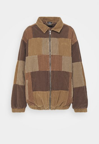 PATCHWORK HARRINGTON
