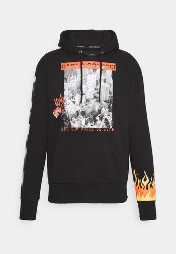 FLAME UNISEX - Sweatshirt - black