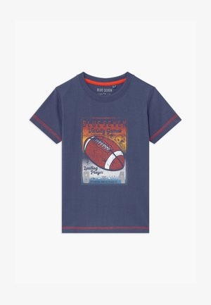 SMALL BOYS AMERCIAN FOOTBALL - Print T-shirt - jeansblau