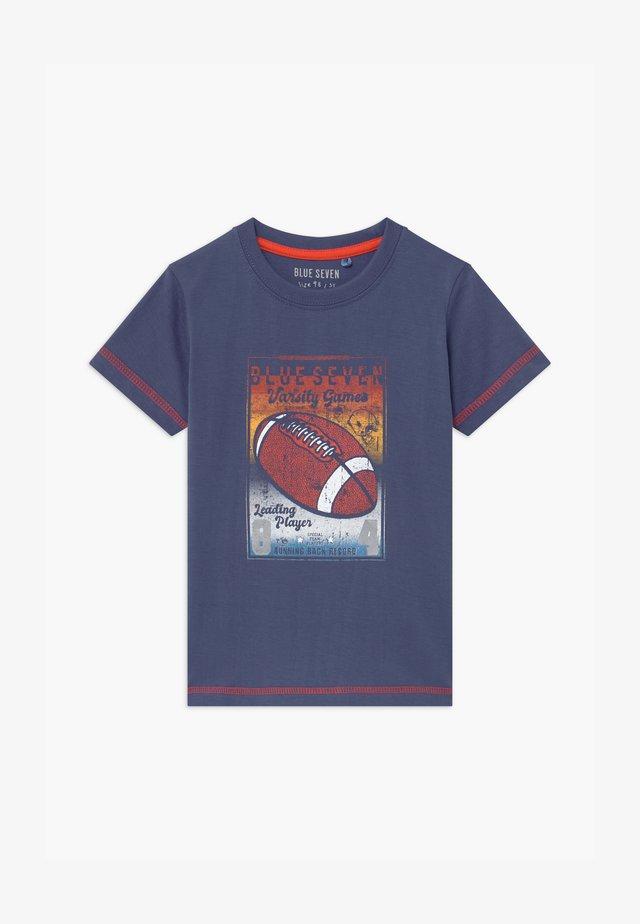 SMALL BOYS AMERCIAN FOOTBALL - Print T-shirt - jeansblau