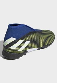 adidas Performance - NEMEZIZ.3 LACELESS TF FUSSBALLSCHUH - Astro turf trainers - black - 2