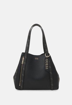 NAYA  TOTE SET - Handbag - coal multi