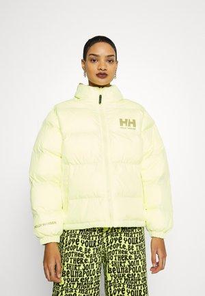 URBAN REVERSIBLE JACKET - Winter jacket - daffodil