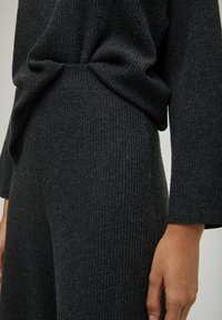 PULL&BEAR - Trousers - dark grey - 5