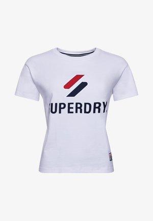 T-shirt med print - optic