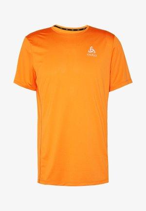 ELEMENT LIGHT - Jednoduché triko - mandarin red