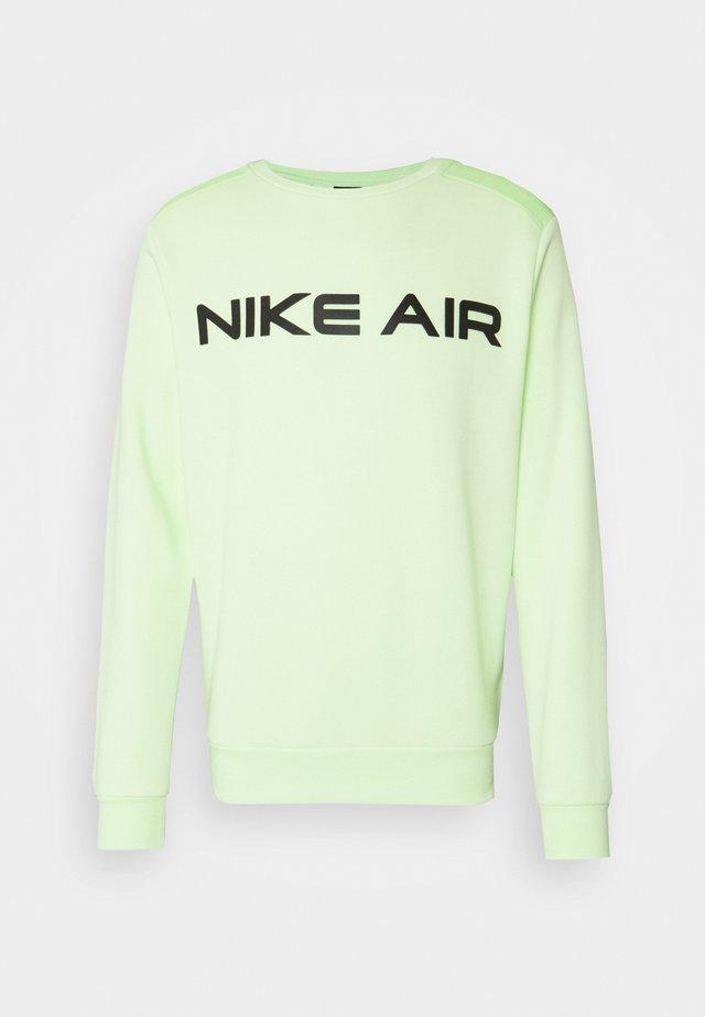 AIR CREW - Sweatshirt - liquid lime/key lime/black