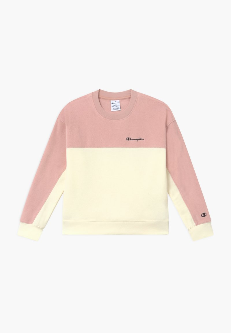 Champion - LEGACY AMERICAN CLASSICS CREWNECK - Fleece jumper - light pink