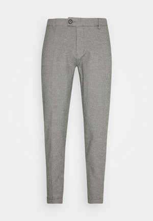 ERCAN PANTS - Chinos - grey check