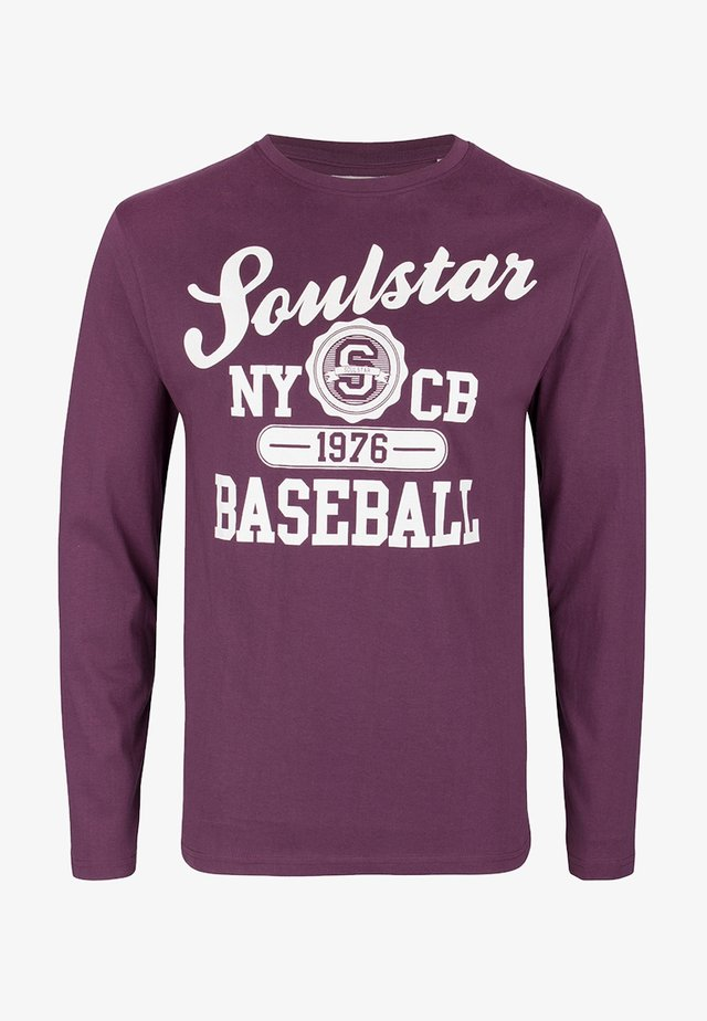 SOULSTAR - Long sleeved top - burgunder