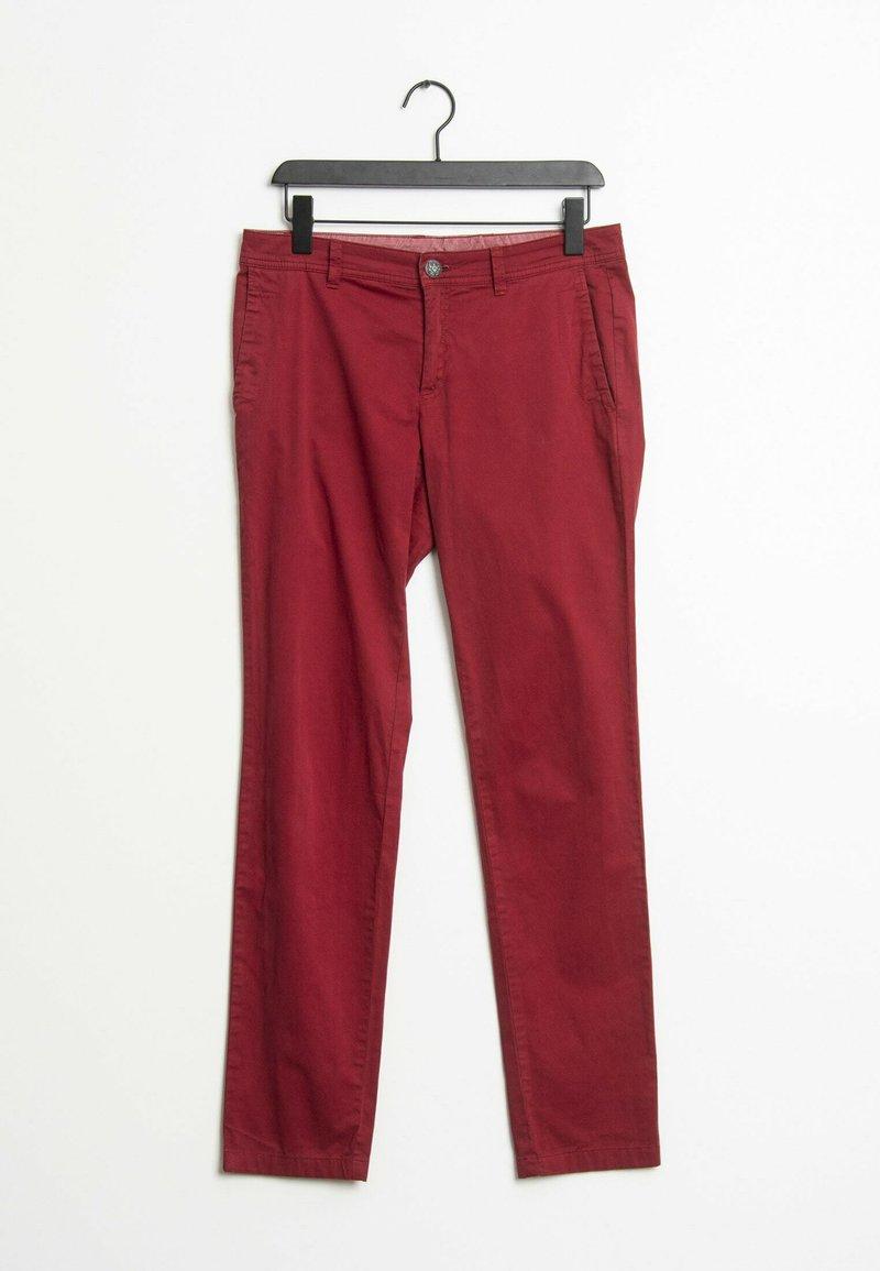 s.Oliver - Slim fit jeans - red