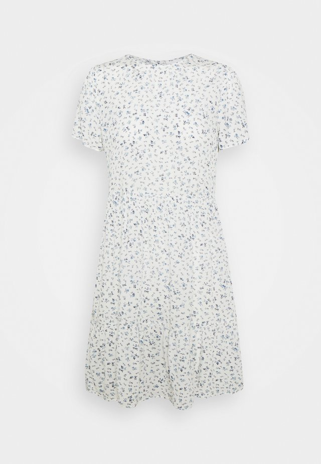 VIMESA DRESS - Korte jurk - cloud dancer
