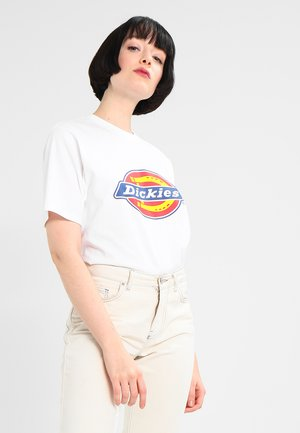 HORSESHOE TEE - Print T-shirt - white
