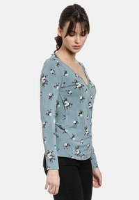 Vive Maria - WAITING FOR YOU - Long sleeved top - blau allover - 2