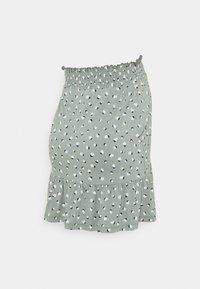 Esprit Maternity - SKIRT - A-line skirt - grey moss - 1