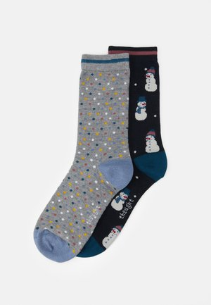 MARGARET SOCK GIFT BOX 2 PACK - Socks - multi-coloured