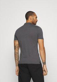 Zign - 2 PACK - Polo shirt - black/dark grey - 2