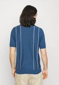 Far Afield - ALFARO - Polo shirt - ensign blue/white sand - 2