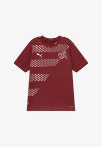 Puma - SCHWEIZ SFV STADIUM - National team wear - pomegranate - 2