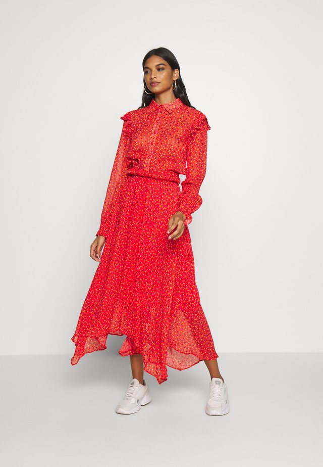 AUDREE DRESS - Day dress - red
